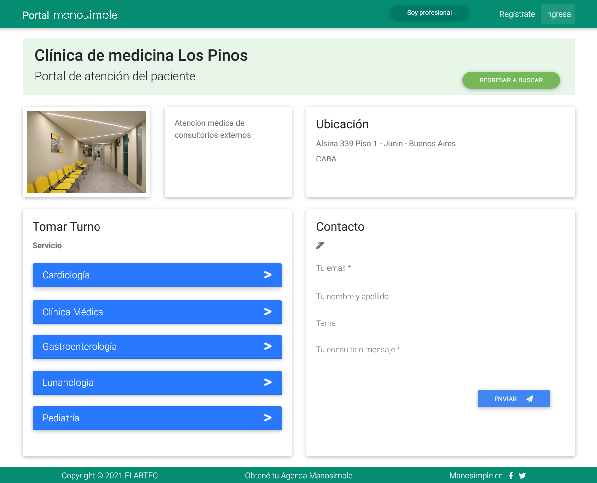 portal de autogestion online